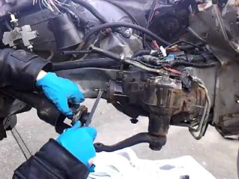 How To Replace A Steering Gear Box Youtube