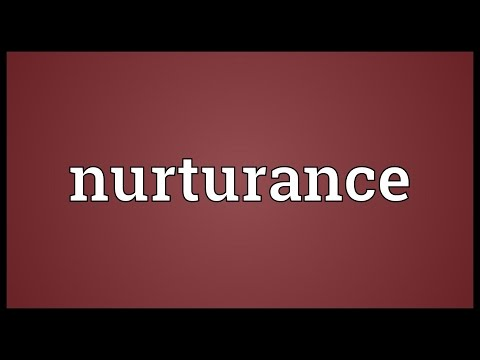 Header of Nurturance