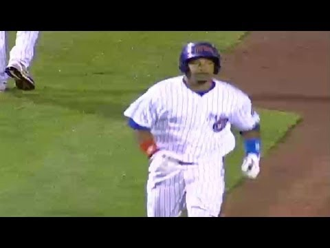 Cubs' Ramirez hits first homer
