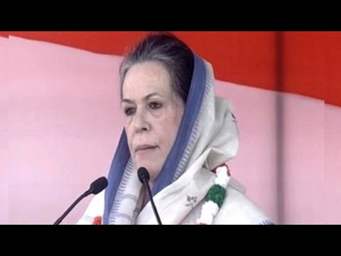 'BJP is conspiring against farmers,' says Sonia Gandhi at mega Delhi rally