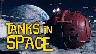 World of Tanks in SPACE... Moon Mayhem