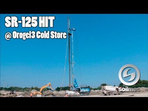 SR-125 HIT in CFA configuration at Orogel3 Cold Store