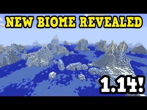 Minecraft 1.14 - NEW BIOME & MOB B Shown Off