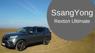 SsangYong Rexton Ultimate Car Review - Towing a Caravan 4000 miles [CC]