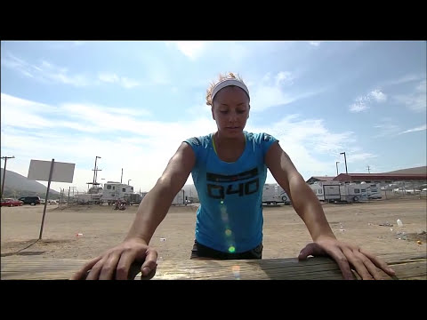 CrossFit Games 2012 - Womens Obstacle Course