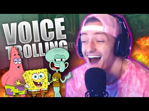 Spongebob Voice Impressions! (Amazing Reactions!)