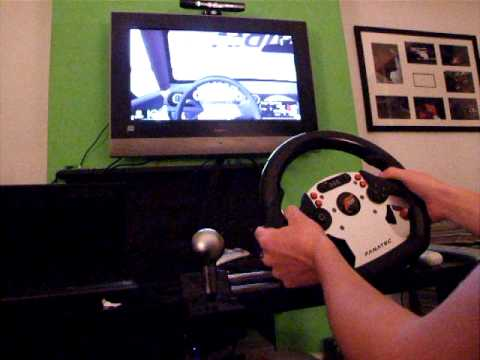 Fanatec CSR Wheel 900 degree rotation gameplay   iracing 2.0