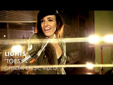 "LIGHTS - ""Toes"" Official Music Video"