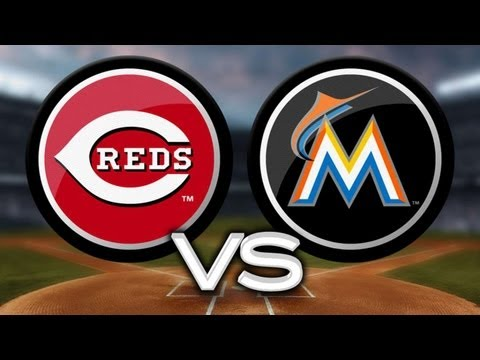 5/14/13 Bailey, Reds cruise past Marlins