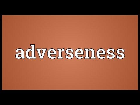 Header of adverseness
