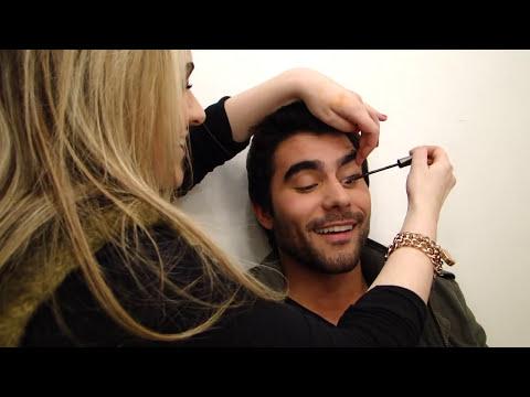 Maquiagem masculina por Alice Salazar