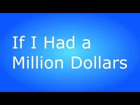 Barenaked dollar lady million