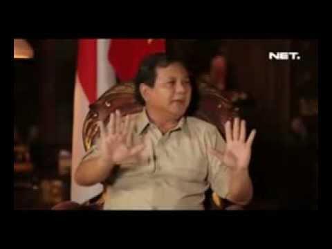 Prabowo Jawab Tuduhan Pelanggaran Ham Dan Alasan Terlibat Pilpres 2014 video