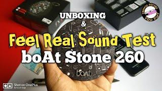 Boat Stone 260 Bluetooth Speaker Sound Test & Unboxing | Boat Stone 260 Deep Sound Test
