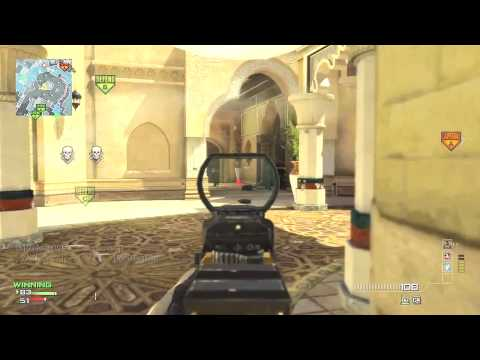Modern Warfare 3 DLC Map Pack #5 Domination on Oasis w/ Gold G36C (Live Commentary/Gameplay)