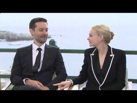 Carey Mulligan and Tobey Maguire Interview -- The Great Gatsby