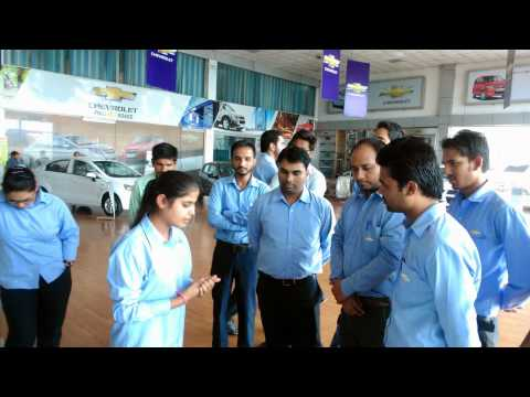 General Motors Silver Transformation camp & New Sail Launch Sales Trainingat Ludhiana