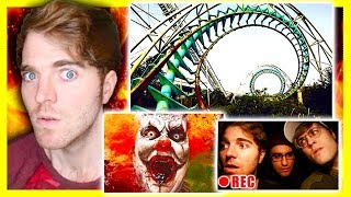 HAUNTED AMUSEMENT PARK!