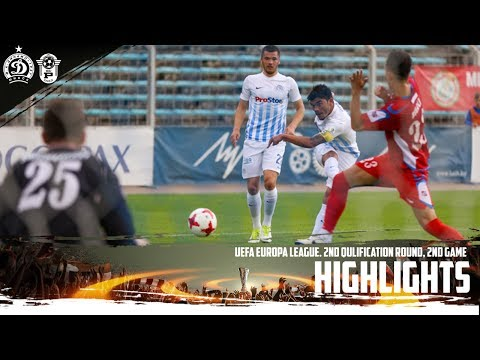Лига Европы 17/18. Динамо Минск 3:0 Работнички Скопье. Видеообзор