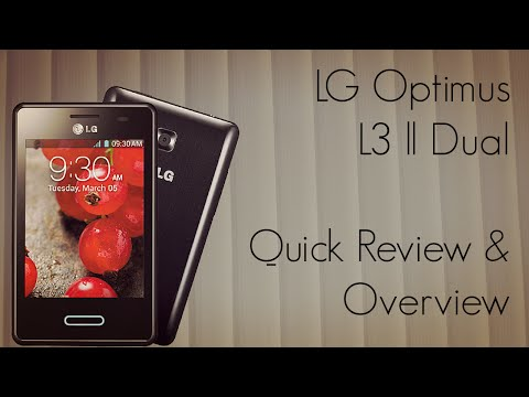 LG Optimus L3 ll Dual Quick Review Overview & Verdict if you should by or not! - PhoneRadar