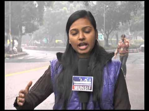 Weather Report from Delhi