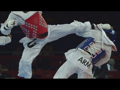 Taekwondo Men -80kg Bronze Medal - Armenia v Great Britain Full Replay - London 2012 Olympics