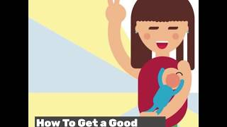 How to get a Proper Breastfeeding Latch