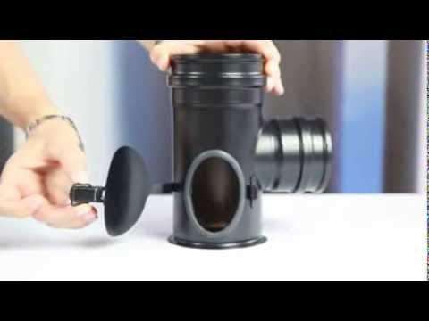 Installazione canna fumaria per stufe a pellet gbd youtube for Stufa pirolitica con canna fumaria