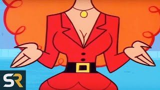 10 Cartoon Characters With Hidden Faces You Were Never Supposed To See