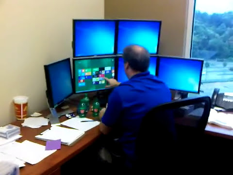 Systems Administrator Reacts to Windows 8