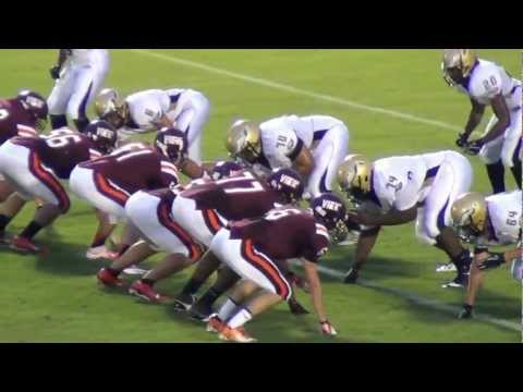 Simeon Khan 55 Mountain View High School Football