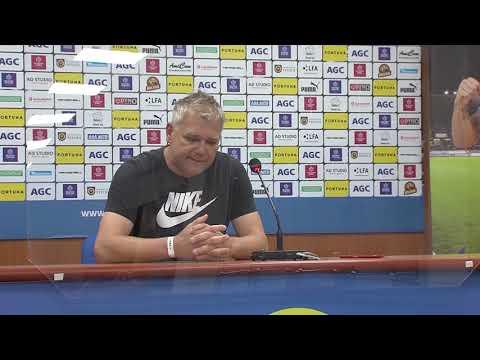 Rozhovory hostujícího týmu po utkání Teplice - Opava (31.5.2020)