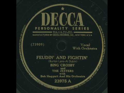 Bing Crosby - Feudin And Fightin