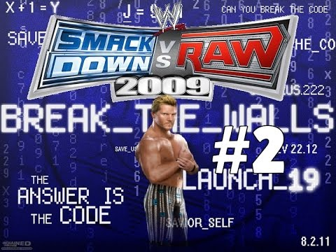 WWE Smackdown Vs Raw 2009 PSP RTWM Chris Jericho: Part 2