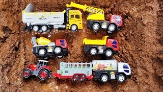 Fine Toys Construction Vehicles Under The Mud