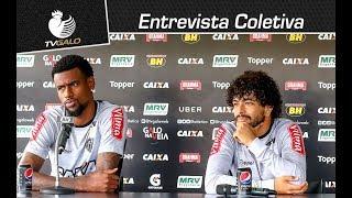 Coletiva AO VIVO: Felipe Santana e Luan (01/02/2018)