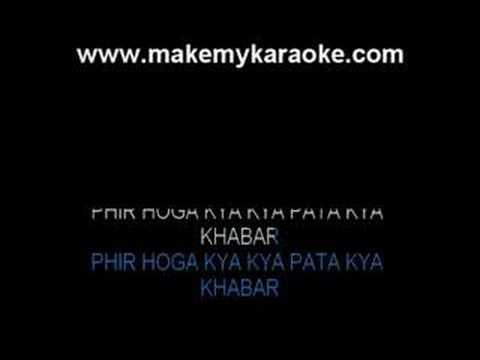 Aaj Unse Pehli Mulaqat - Paraya Dhan Kishore Kumar Karaoke