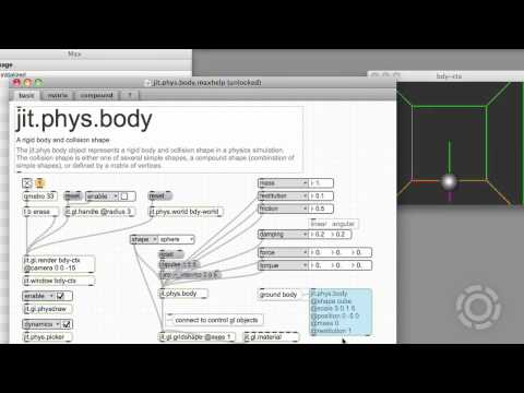 Introduction to jit.phys, Part 1