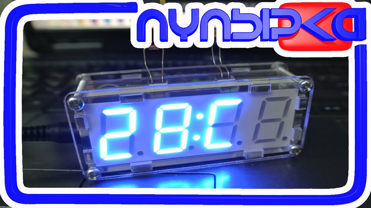 Как собрать часы электронные