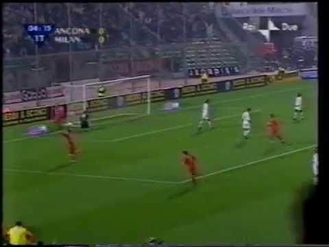 Ancona – Milan Ottavi di finale ANDATA Coppa Italia 2002-2003