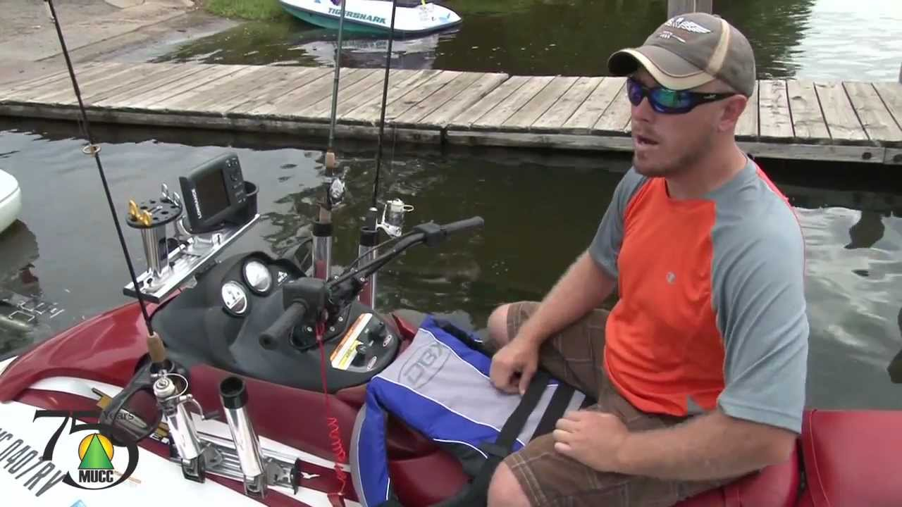 Jet ski fishing youtube for Best jet ski for fishing
