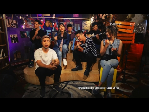 download lagu Vidi Aldiano Ft. Sheila Dara & Boy William - Shape Of You Ed Sheeran Cover gratis