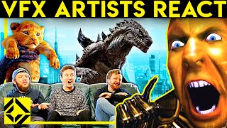 VFX Artists React to Bad & Great CGi 17