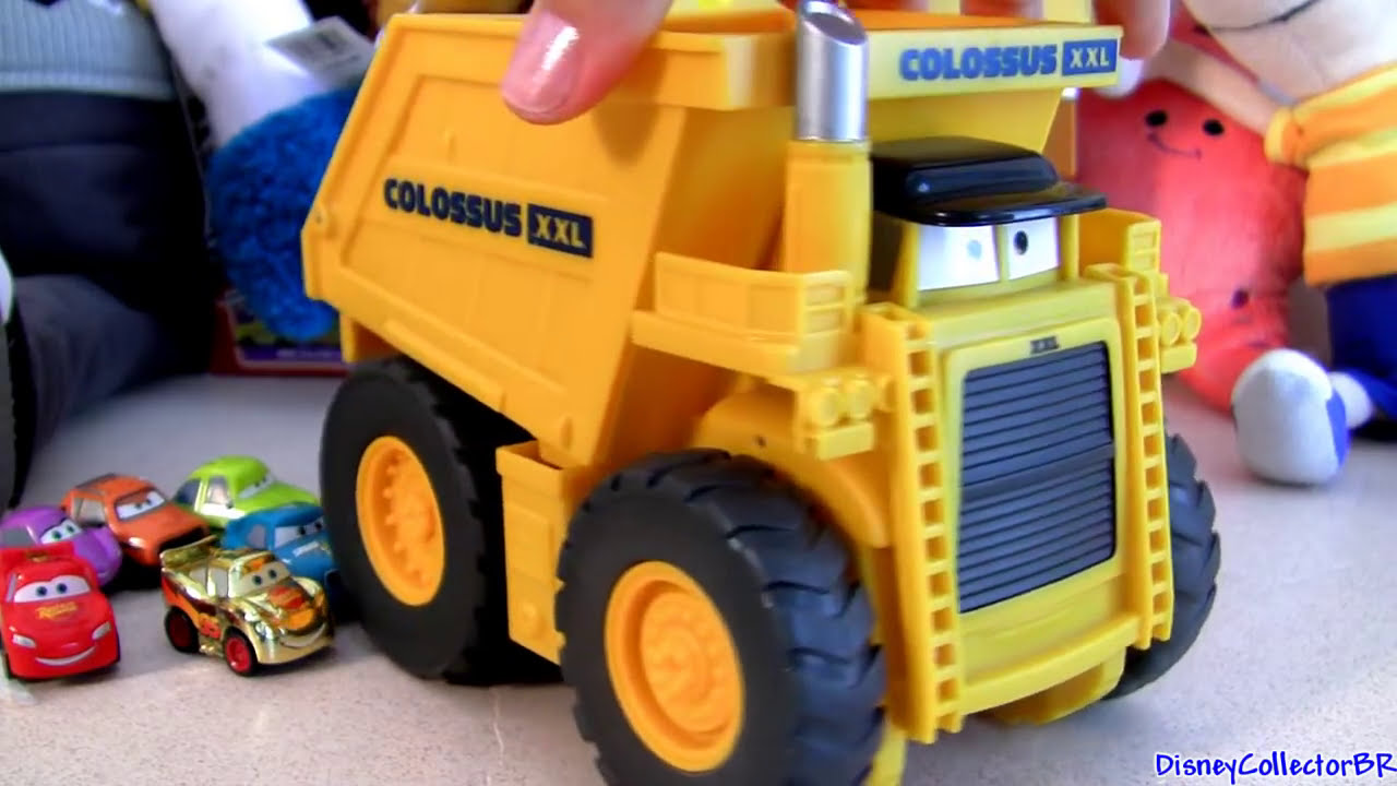 Cars 2 Watch Colossus Eating Micro Drifters Cars For Lunch