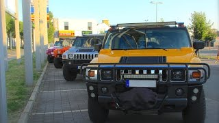 Hummer Club Erfurt * Treff in Gera * US Cars H2 H3 *