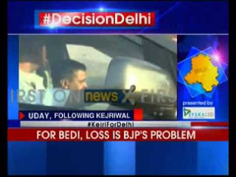 Aam Aadmi Party chief Arvind Kejriwal punctures BJP's victory march