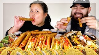 THE ULTIMATE TACO BELL MUKBANG | EATING SHOW