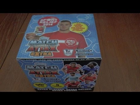 YOUTUBE PREMIERE! UNBOXING BOOSTER BOX MATCH ATTAX EXTRA 2013-14 Trading Cards topps OPENING ☆ HD