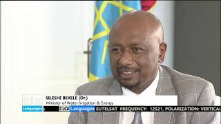 Addis Dialogue with - Minister of Water, Irrigation & Energy, Sileshe Bekele(Dr) part One letv