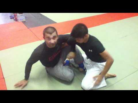 BJJ: Butterfly guard sweeps. The best butterfly guard starting platform Image 1